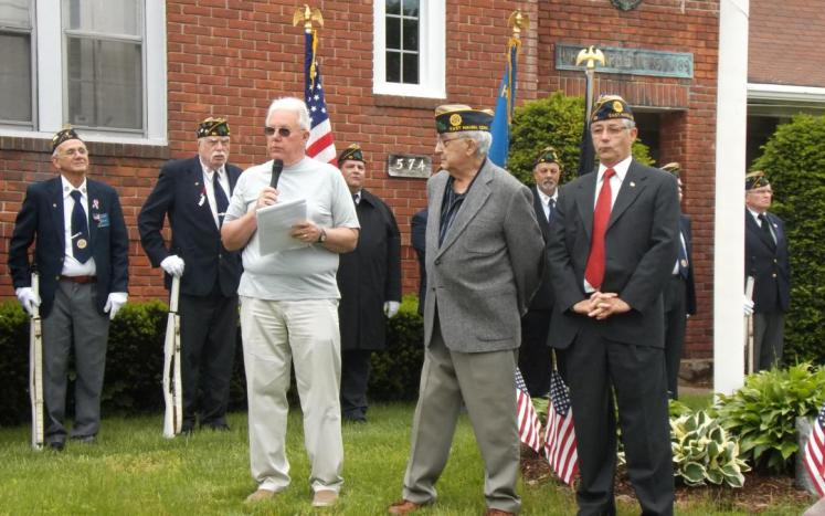 SLIDESHOW of East Haven's Memorial Day Ceremony as Mayor and Veterans' Council Remembers Our War Dead----Joseph Maturo, Sr.: Thi