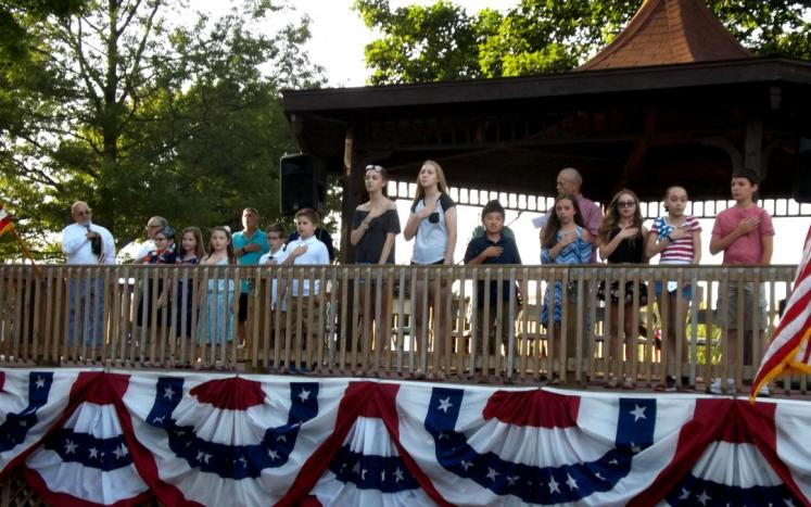 Slideshow of the Town of East Haven's 19th Annual Pause for the Pledge of Allegiance-----